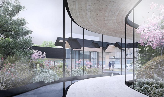 Suncheon Art Platform by Gilles Retsin Architecture
