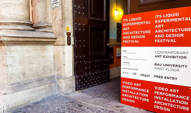 Feedback release: IT'S LIQUID EXPERIMENTAL ART ARCHITECTURE AND DESIGN FESTIVAL | ROME