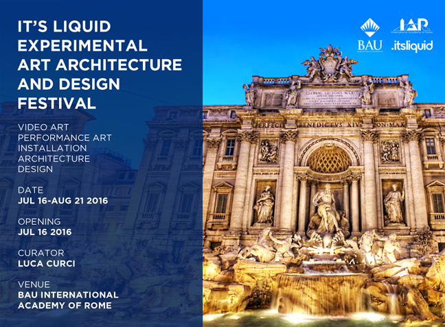 IT'S LIQUID EXPERIMENTAL ART ARCHITECTURE AND DESIGN FESTIVAL