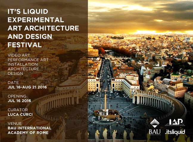 IT'S LIQUID EXPERIMENTAL ART ARCHITECTURE AND DESIGN FESTIVAL