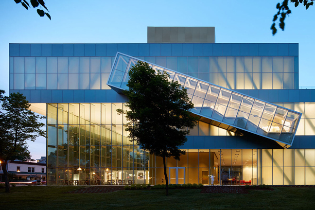 The Pierre Lassonde Pavilion by OMA opens its doors