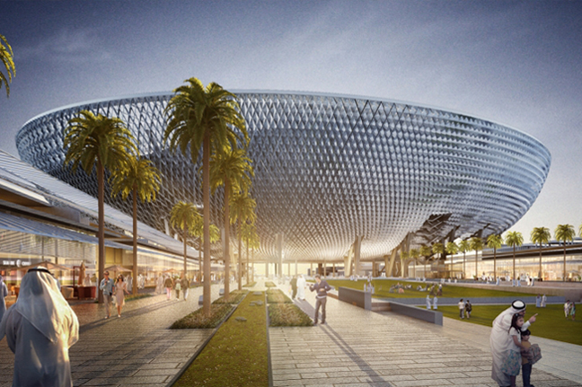 Mohammed bin Rashid Stadium by  PERKINS+WILL