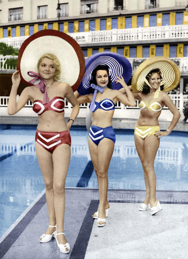 The bikini is 70 years old