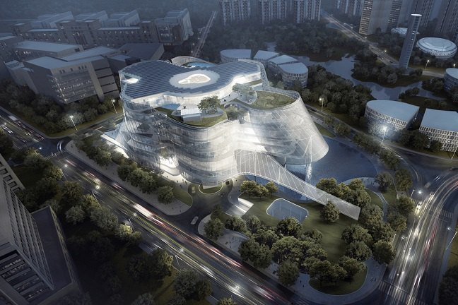 Xinhee design center by MAD architects