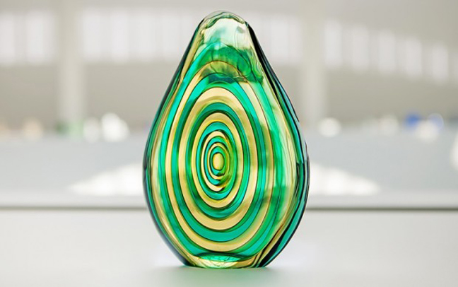 Murano. Milan. Venezia. Glass at Pinakothek der Moderne
