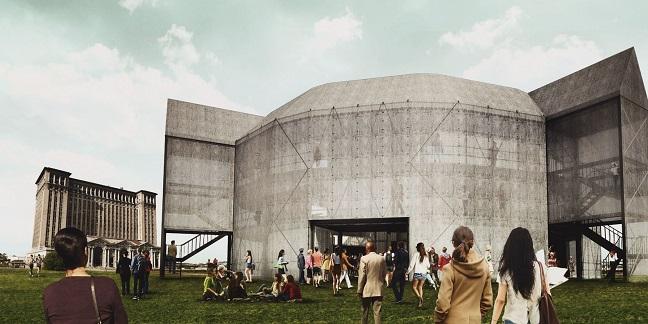 Recreation of Shakespeare's Globe Theatre