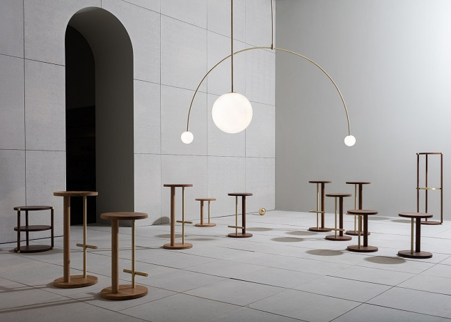 The Double Dream of Spring product exhibition by Michael Anastassiades for Herman Miller
