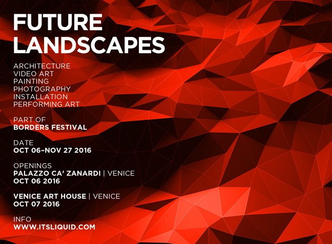 OPENINGS: FUTURE LANDSCAPES| Venice