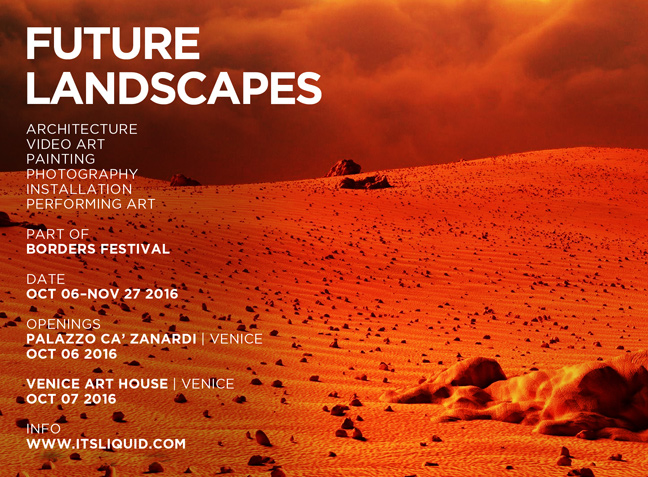 OPENINGS: FUTURE LANDSCAPES | Venice