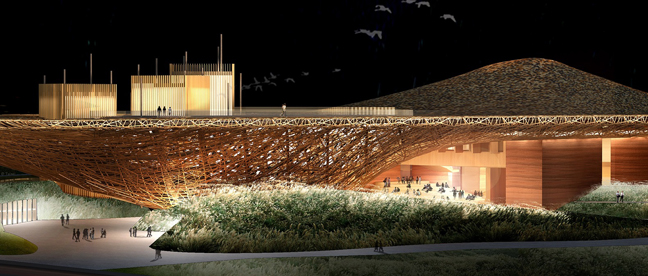 Studio Pei-Zhu Unveils Plans for Performing Arts Center in Dali, China