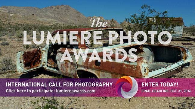 Enter The Lumiere Photography Awards Competition and Gain Worldwide Exposure