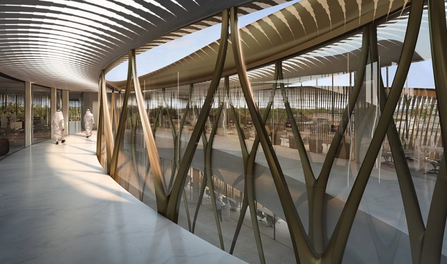 Zaha Hadid Architects unveils archaeology centre for Saudi Arabia