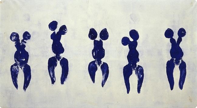 Yves Klein at Liverpool Tate