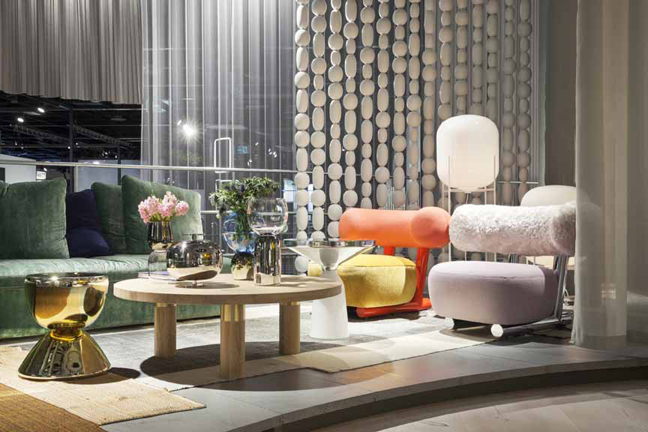 THE INTERNATIONAL INTERIOR SHOW AT COLOGNE