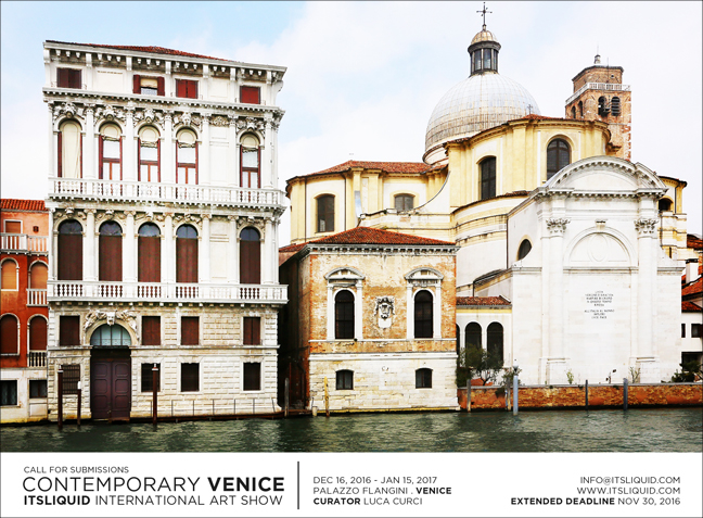 Call for submissions: Contemporary Venice 2016 – It's LIQUID International Art Show