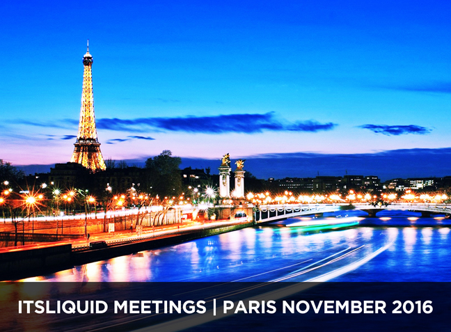 IT'S LIQUID MEETINGS - PARIS 2016