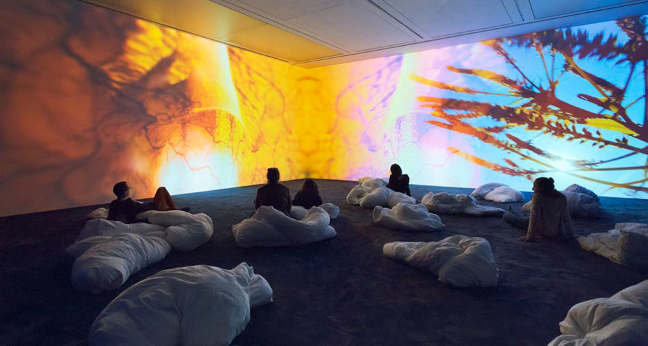 Pipilotti Rist: Pixel Foorest at New Museum