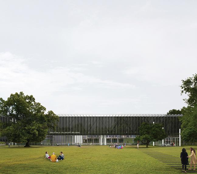 Gonzalez Hinz Zabala's design for new Bauhaus Museum Dessau