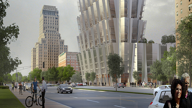 Residential tower for St Louis by Studio Gang
