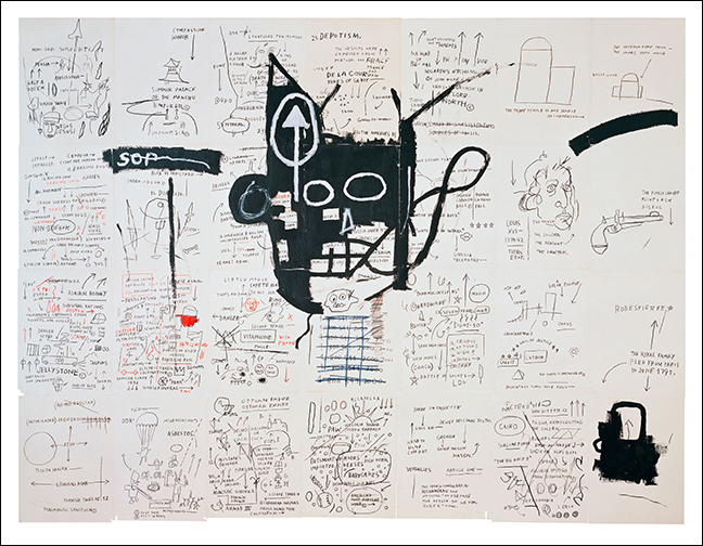 Basquiat: The Unknown Notebooks at The Cleveland Museum of Art