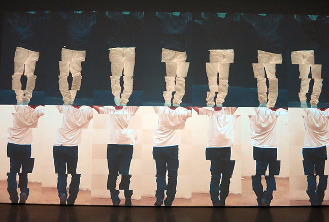 Bruce Nauman: Contrapposto Studies, I through VII