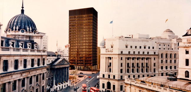 Mies Van Der Rohe and James Stirling Circling the Square