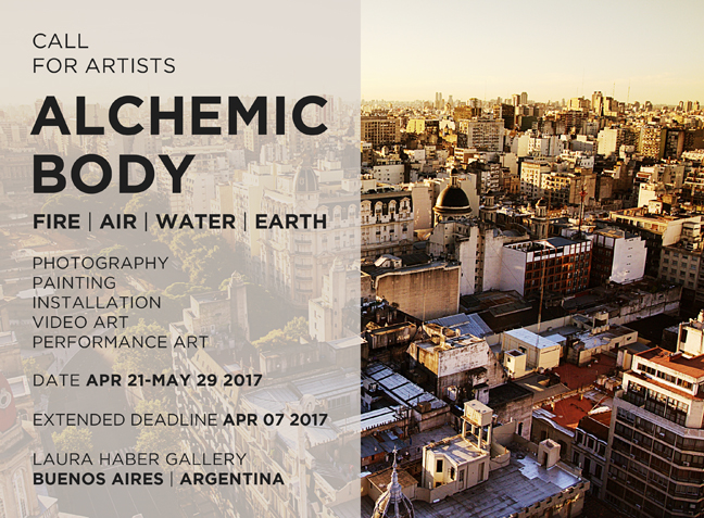 CALL FOR ARTISTS_ALCHEMIC BODY_FIRE_AIR_WATER_EARTH