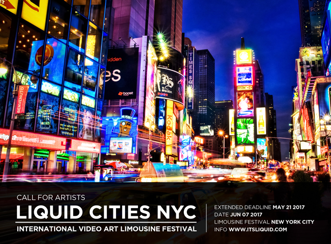 CALL FOR ARTISTS: LIQUID CITIES NYC 2017