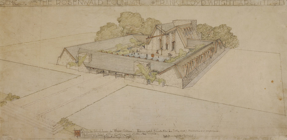 Frank Lloyd Wright at 150: Unpacking the Archive_005