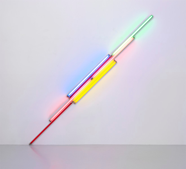 Dan Flavin. From the collection of Fondation Louis Vuitton_002