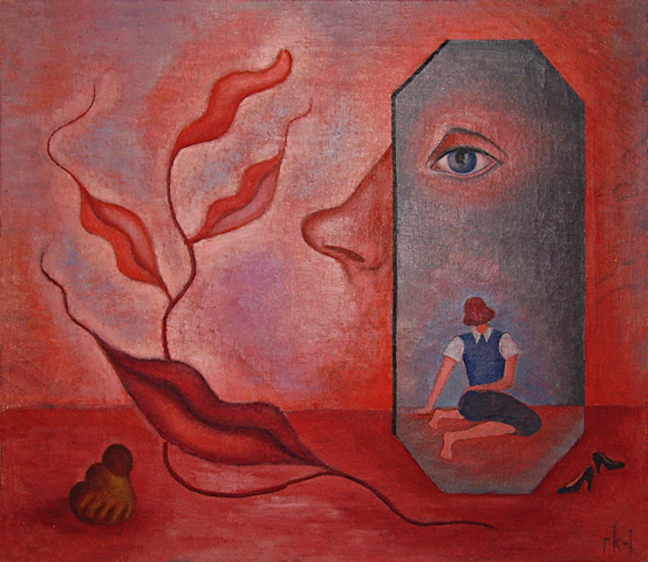 Rita Kernn-Larsen. Surrealist Paintings_001