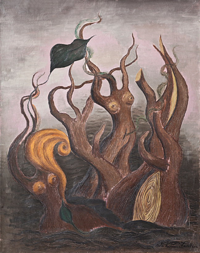 Rita Kernn-Larsen. Surrealist Paintings_003