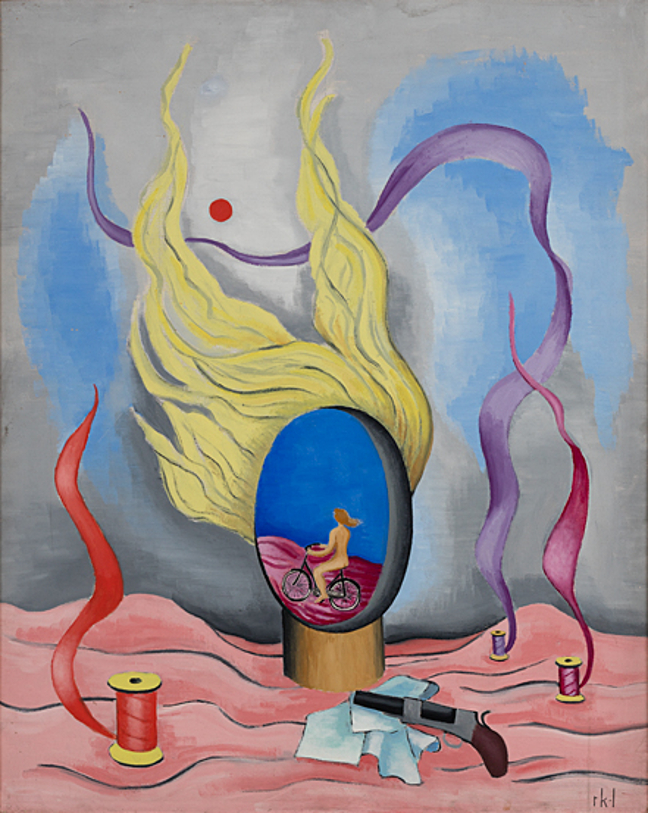 Rita Kernn-Larsen. Surrealist Paintings_004