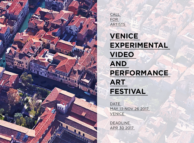 Call for artists: Venice Experimental Video and Performance Art Festival