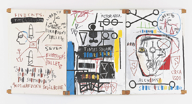 Jean-Michel Basquiat. New York City. Works from Mugrabi Collection_002