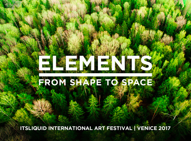 Call for artists: ELEMENTS - FROM SHAPE TO SPACE