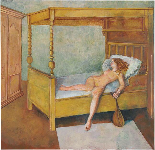 Balthus at Gagosian Gallery_001