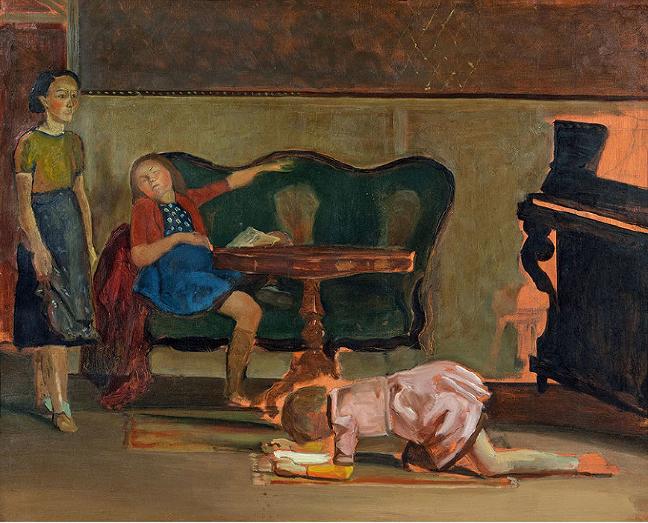 Balthus at Gagosian Gallery_003