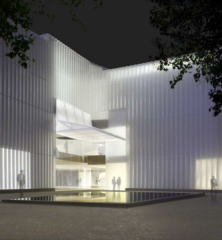 Steven Holl Architects break ground on Museum of Fine Arts, Houston Nancy and Rich Kinder building