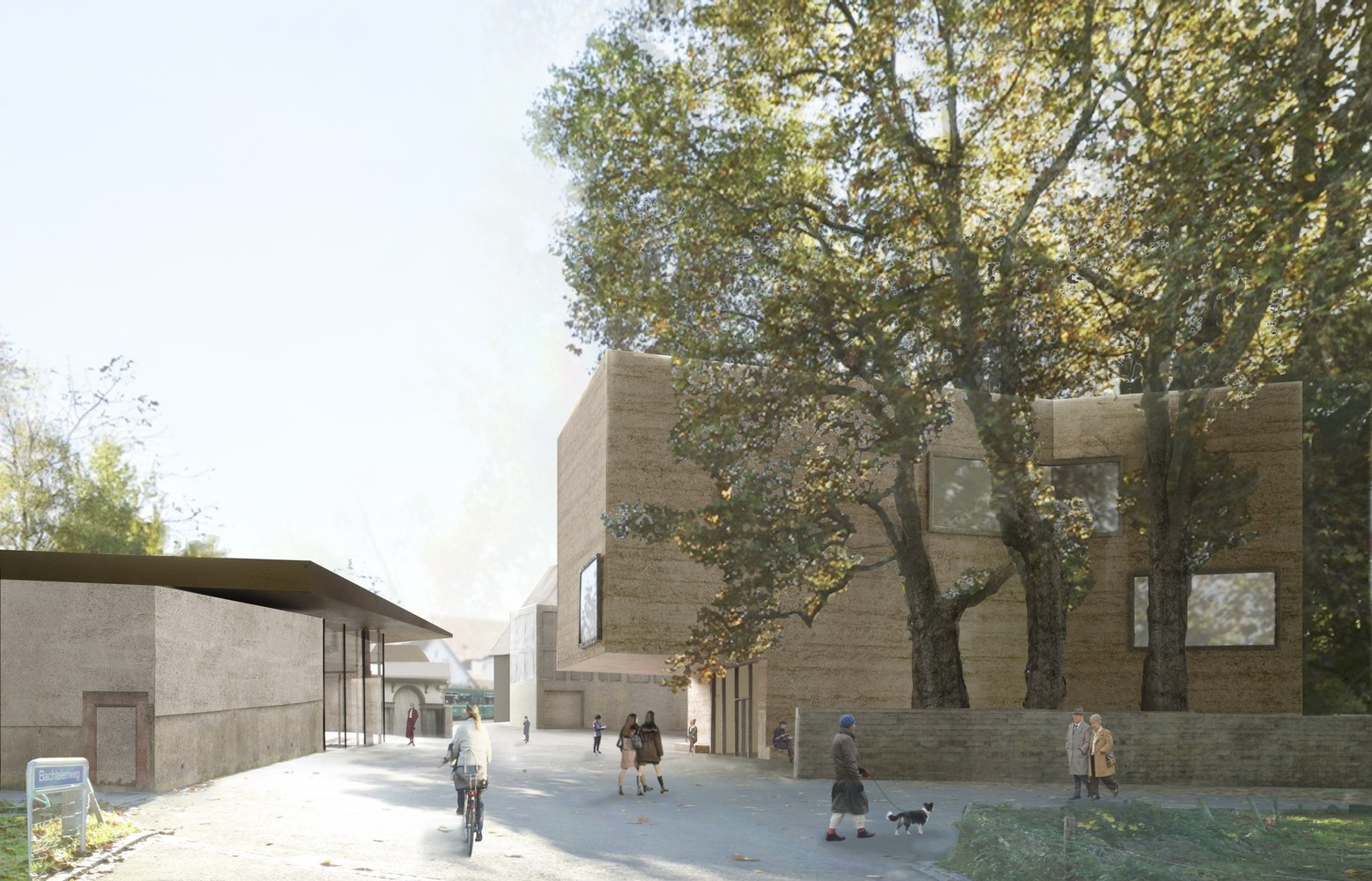 Atelier Peter Zumthor to present the foundation Beyeler's extention project