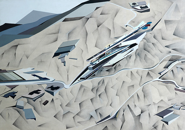'ZHA unbuilt' exhibition at Zaha Hadid Design Gallery