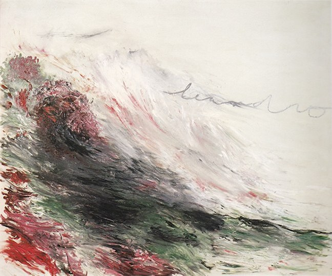 Cy Twombly at the Thomas Ammann Fine Art AG