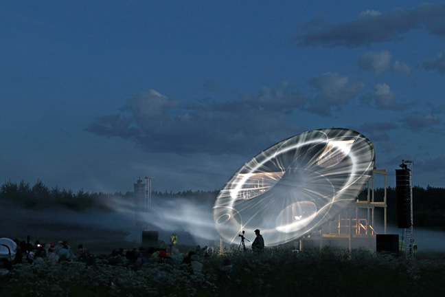 DJA unifies architecture, music, science, video and light