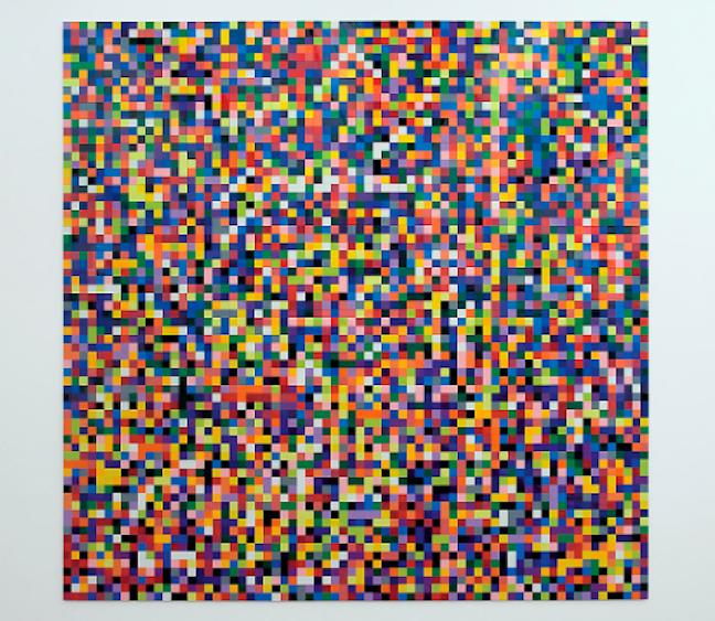 Gerhard Richter atEspace Louis Vuitton