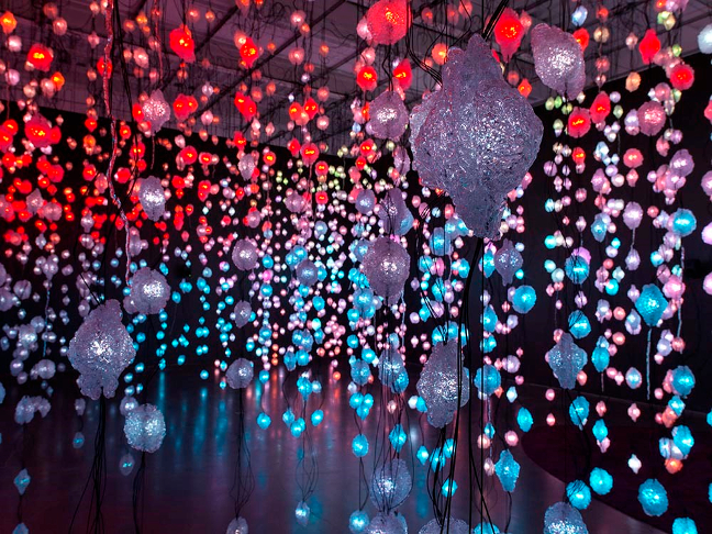 Pipilotti Rist: Pixel Forest and Worry Will Vanish