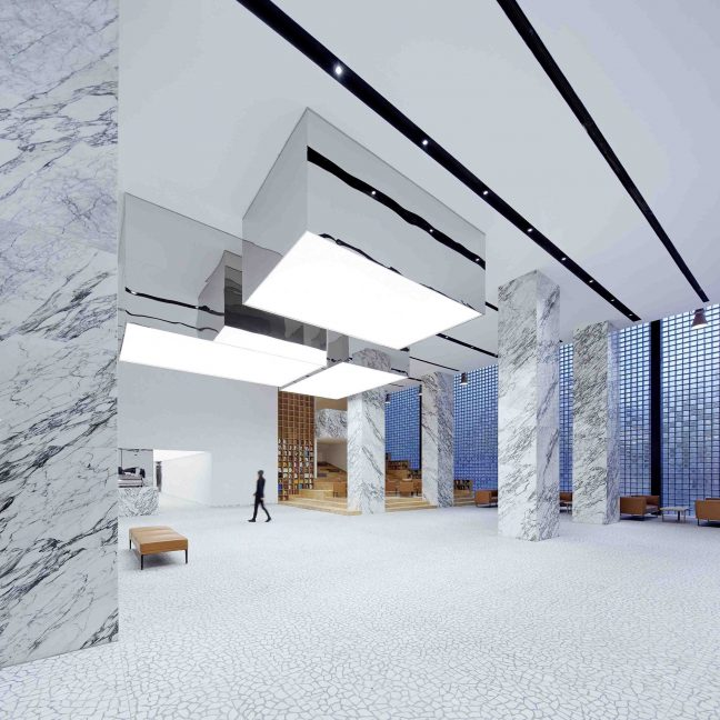 CLOU Architects repurpose boiler room into an airy gallery