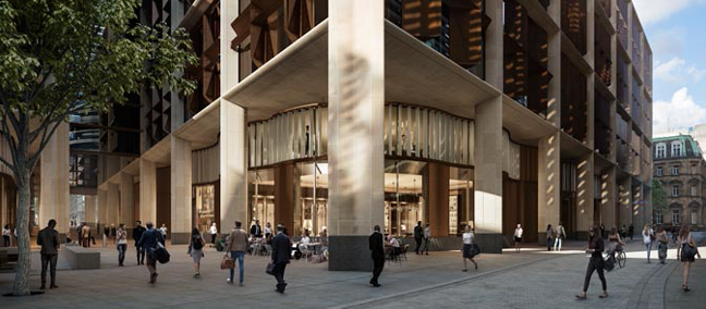 Bloomberg's New European Headquarters Nears Completion