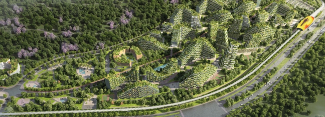 Liuzhou forest city itsliquid group official website for Liuzhou forest city