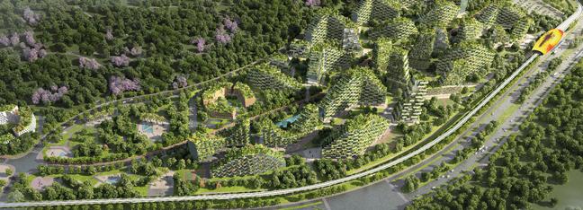 LIUZHOU FOREST CITY - Stefano Boeri Architetti
