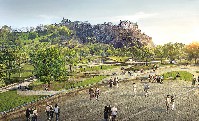 wHY chosen to complete Landmark Ross Pavilion next to Edinburgh Castle